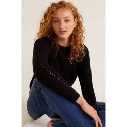 Mango - Sweter Cross3. Szare swetry klasyczne damskie marki Mango, l, z elastanu, klasyczne. Za 69,90 zł.