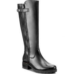 Buty zimowe damskie: Oficerki CAPRICE - 9-26612-29 Black Nappa 022