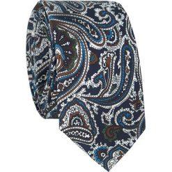 Jedwabny krawat KWWR007006. Szare krawaty męskie Giacomo Conti, z jedwabiu. Za 169,00 zł.