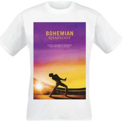 T-shirty męskie: Queen Bohemian Rhapsody T-Shirt biały