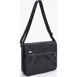 Torba na ramię - Czarny. Czarne torby na ramię męskie marki Reserved, na ramię. Za 119,99 zł.