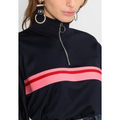 Bluzy rozpinane damskie: Topshop Petite SPORTY TRACK Bluza navy