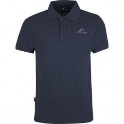 """Koszulka polo """"Hekla"""" w kolorze ciemnoszarym. Niebieskie koszulki polo marki GALVANNI, l, z okrągłym kołnierzem. W wyprzedaży za 86,95 zł."""