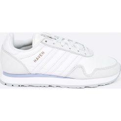 Adidas Originals - Buty Haven. Szare buty sportowe damskie adidas Originals, z materiału. W wyprzedaży za 299,90 zł.