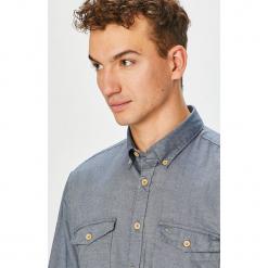 Camel Active - Koszula. Szare koszule męskie na spinki marki S.Oliver, l, z bawełny, z włoskim kołnierzykiem, z długim rękawem. Za 289,90 zł.