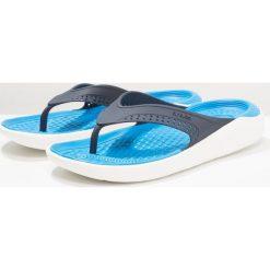 Crocs LITERIDE FLIP Japonki kąpielowe navy/white. Niebieskie japonki męskie marki Crocs, z gumy. Za 169,00 zł.