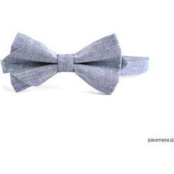 Vaquera. Mucha męska, chłodny błękit. Niebieskie muchy męskie Pakamera, z tkaniny. Za 69,00 zł.