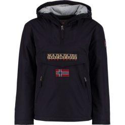 Napapijri RAINFOREST POCKET Kurtka przejściowa black. Szare kurtki męskie przejściowe marki Napapijri, l, z materiału, z kapturem. Za 1029,00 zł.