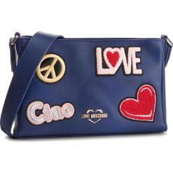 Torebka LOVE MOSCHINO - JC4086PP17LJ0750  Blu. Niebieskie listonoszki damskie Love Moschino, ze skóry ekologicznej. Za 799,00 zł.