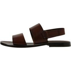 Sandały męskie skórzane: Peralston Sandały cognac