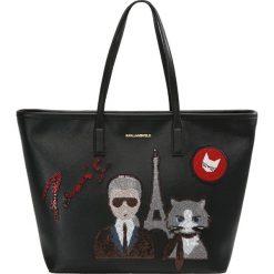 KARL LAGERFELD K/PARIS  Torba na zakupy black. Czarne shopper bag damskie KARL LAGERFELD. W wyprzedaży za 1087,20 zł.