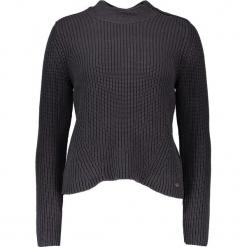 Sweter w kolorze granatowym. Niebieskie swetry klasyczne damskie marki Mustang, z aplikacjami, z bawełny. W wyprzedaży za 121,95 zł.