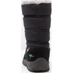 KangaROOS KFROST Śniegowce jet black. Niebieskie buty zimowe chłopięce marki KangaROOS. W wyprzedaży za 194,35 zł.