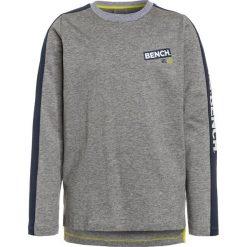 Bench LONG SLEEVE Bluzka z długim rękawem grey marl. Szare bluzki dziewczęce bawełniane marki Bench, z kapturem. Za 129,00 zł.