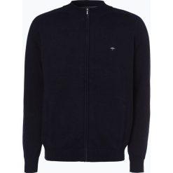 Fynch Hatton - Kardigan męski, niebieski. Niebieskie swetry rozpinane męskie Fynch-Hatton, m, z haftami, z bawełny. Za 349,95 zł.
