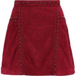 Minispódniczki: Glamorous Spódnica trapezowa bugundy