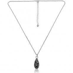 """Pozłacany naszyjnik """"Cannes"""" z kryształkami Swarovski - dł. 42 cm. Szare naszyjniki damskie marki W.KRUK, srebrne. W wyprzedaży za 65,95 zł."""
