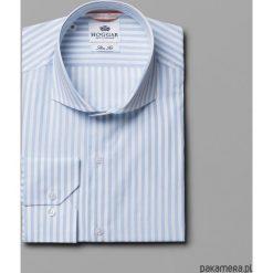 Koszule męskie: Koszula w biało-błękitne paski