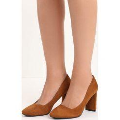 Camelowe Czółenka Forever You. Różowe buty ślubne damskie Born2be, na wysokim obcasie, na słupku. Za 79,99 zł.