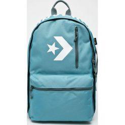 Converse - Plecak. Niebieskie plecaki damskie Converse, z poliesteru. W wyprzedaży za 239,90 zł.