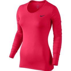Nike Koszulka treningowa Nike Pro Long Sleeve Top W Różowy r. S - (725740-618). Czerwone topy sportowe damskie Nike, s. Za 110,72 zł.