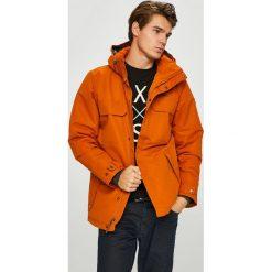 Columbia - Kurtka. Pomarańczowe kurtki męskie Columbia, l, z poliesteru, z kapturem. Za 839,90 zł.