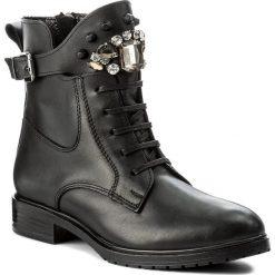 Botki SERGIO BARDI - Amalfi FW127280617HB 101. Czarne buty zimowe damskie Sergio Bardi, ze skóry, na obcasie. W wyprzedaży za 259,00 zł.