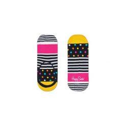 Skarpetki LINER Happy Socks SDO06-9000. Szare skarpetki męskie marki Happy Socks, w kolorowe wzory. Za 19,53 zł.