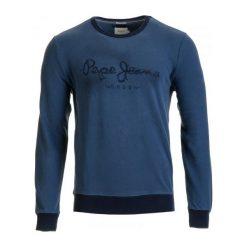 Bejsbolówki męskie: Pepe Jeans Bluza Męska Bow Xl Niebieski