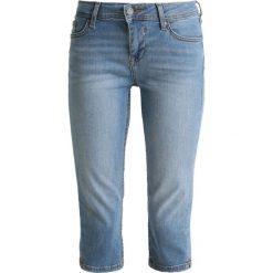 Odzież damska: Mustang JASMIN CAPRI Szorty jeansowe strong bleach
