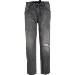 Chinosy chłopięce: Sisley TROUSERS Jeansy Slim Fit grey denim