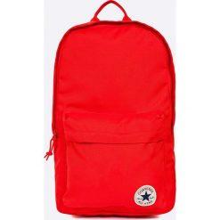 Converse - Plecak. Czerwone plecaki męskie Converse, w paski, z poliesteru. Za 129,90 zł.