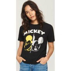 Odzież damska: T-shirt MICKEY MOUSE - Czarny