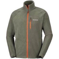 Columbia Bluza Męska Fast Trek Ii Full Zip Fleece Peatmoss S. Szare bluzy męskie rozpinane Columbia, m, z kapturem. Za 195,00 zł.