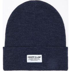Czapka - Granatowy. Niebieskie czapki męskie Cropp. Za 29,99 zł.