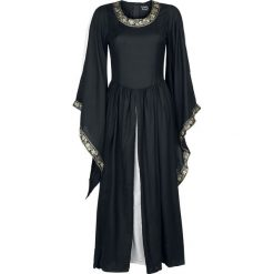 Leonardo Carbone Edles Kleid mit Bordüre Sukienka czarny/biały. Białe sukienki Leonardo Carbone, l. Za 244,90 zł.