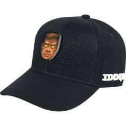 Doom Doomguy Godmode Czapka baseballowa czarny. Czarne czapki z daszkiem męskie Doom, z aplikacjami, z tworzywa sztucznego. Za 42,90 zł.