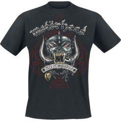 Motörhead Ace Of Spades Tattoo T-Shirt czarny. Czarne t-shirty męskie Motörhead, m, z napisami. Za 74,90 zł.