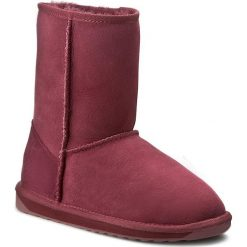 Buty EMU AUSTRALIA - Stinger Lo W10002 Claret. Czerwone buty zimowe damskie EMU Australia, ze skóry. W wyprzedaży za 439,00 zł.
