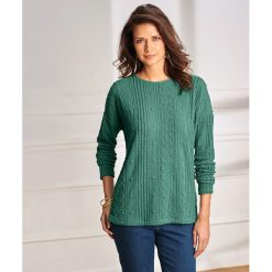 Bluzy damskie: Bluza sportowa ze strukturalnej dzianiny