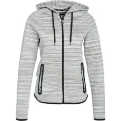 Bluzy damskie: Superdry SPORT GYM TECH LUXE ZIPHOOD Bluza rozpinana grey slub