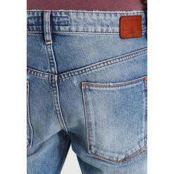 DRYKORN DEEP Jeansy Zwężane blue destroyed. Niebieskie jeansy męskie regular DRYKORN. W wyprzedaży za 367,95 zł.