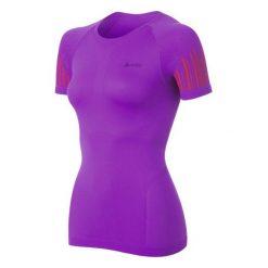Odlo Koszulka damska s/s crew neck Evolution Cool Trend fioletowa r. S. Szare bluzki sportowe damskie marki Odlo. Za 169,95 zł.