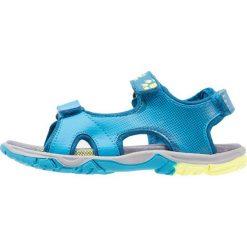 Jack Wolfskin PUNO BAY  Sandały trekkingowe glacier blue. Niebieskie sandały chłopięce marki Jack Wolfskin, z materiału. Za 209,00 zł.