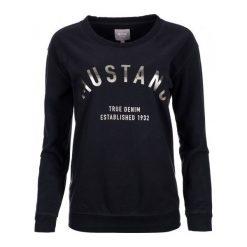 Mustang Bluza Damska L Ciemnoniebieski. Czarne bluzy rozpinane damskie Mustang, l, z bawełny. Za 196,00 zł.