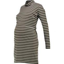 Sukienki hiszpanki: Boob SIMONE Sukienka z dżerseju earthy green/offwhite