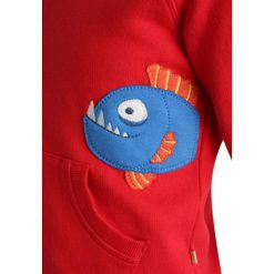 Frugi KIDS ZGREEN LUCAS ZIP UP  Bluza rozpinana tomato. Czerwone bluzy dziewczęce Frugi, z bawełny. Za 199,00 zł.