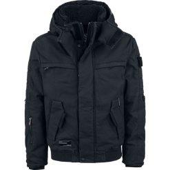 Khujo Nartez Kurtka czarny. Czarne kurtki męskie bomber khujo, xl, z aplikacjami, z polaru. Za 771,90 zł.