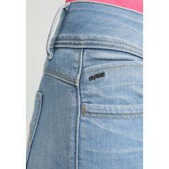 GStar LYNN DMID SUPER SKINNY ANKLE Jeans Skinny Fit legend ultimate stretch denim. Niebieskie jeansy damskie relaxed fit marki G-Star, z bawełny. W wyprzedaży za 395,85 zł.