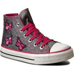 Trampki dziewczęce: Trampki MAGIC LADY - C188092401  Czarny/Różowy Ciemny